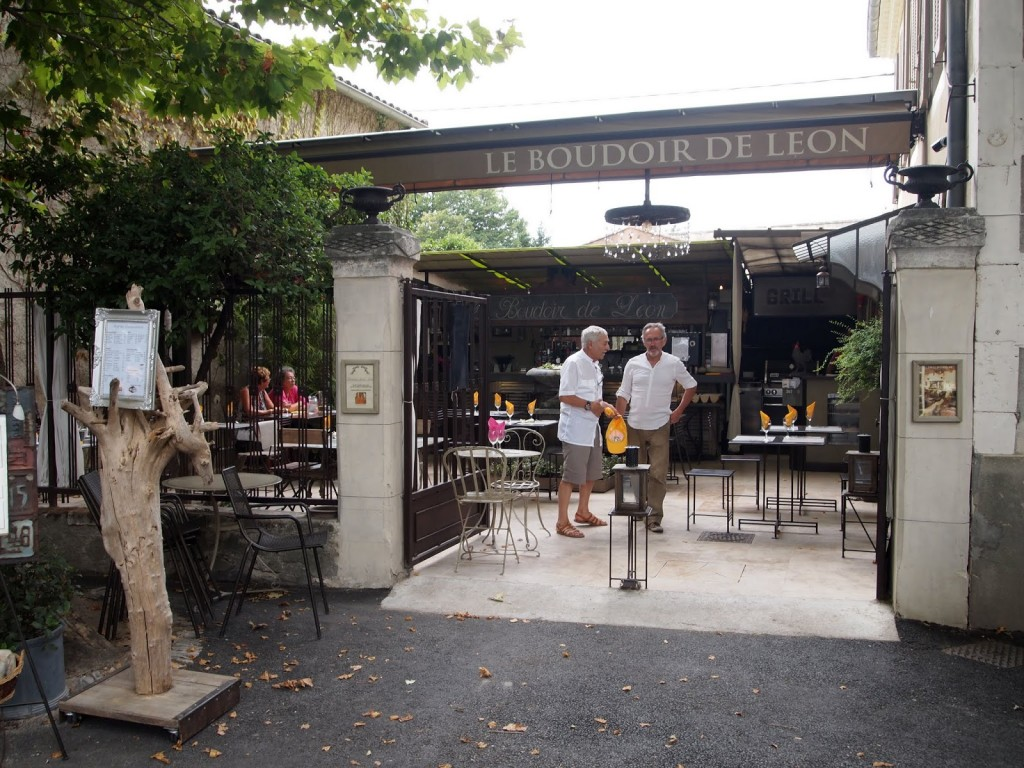 Lunch in Cucuron at Le Boudoir de Leon