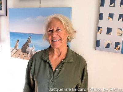 "JACQUELINE BRICARD'S ""REGARD NAÏF EUROPÉEN"" EXHIBITION EXTENDED THROUGH DECEMBER"
