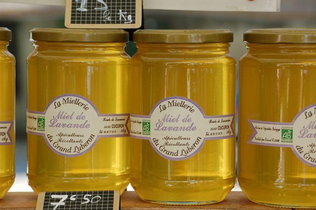 The wonderful honey of Cucuron. Photo by David Scott Allen