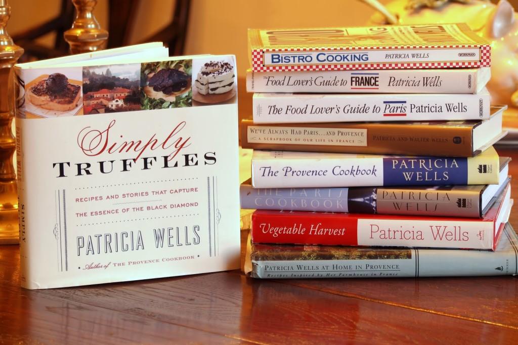 Patricia Wells Library chez nous