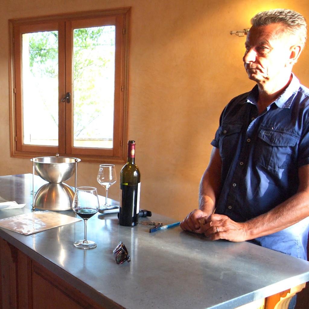 Winemaker Gilles Delsuc