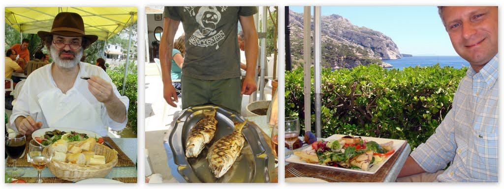 Lunch in Les Calanques