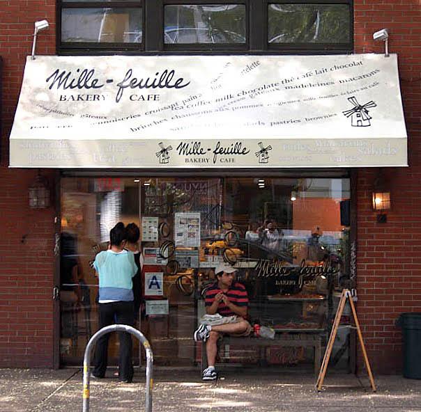 Mille-feuille Bakery in Greenwich Village NYC