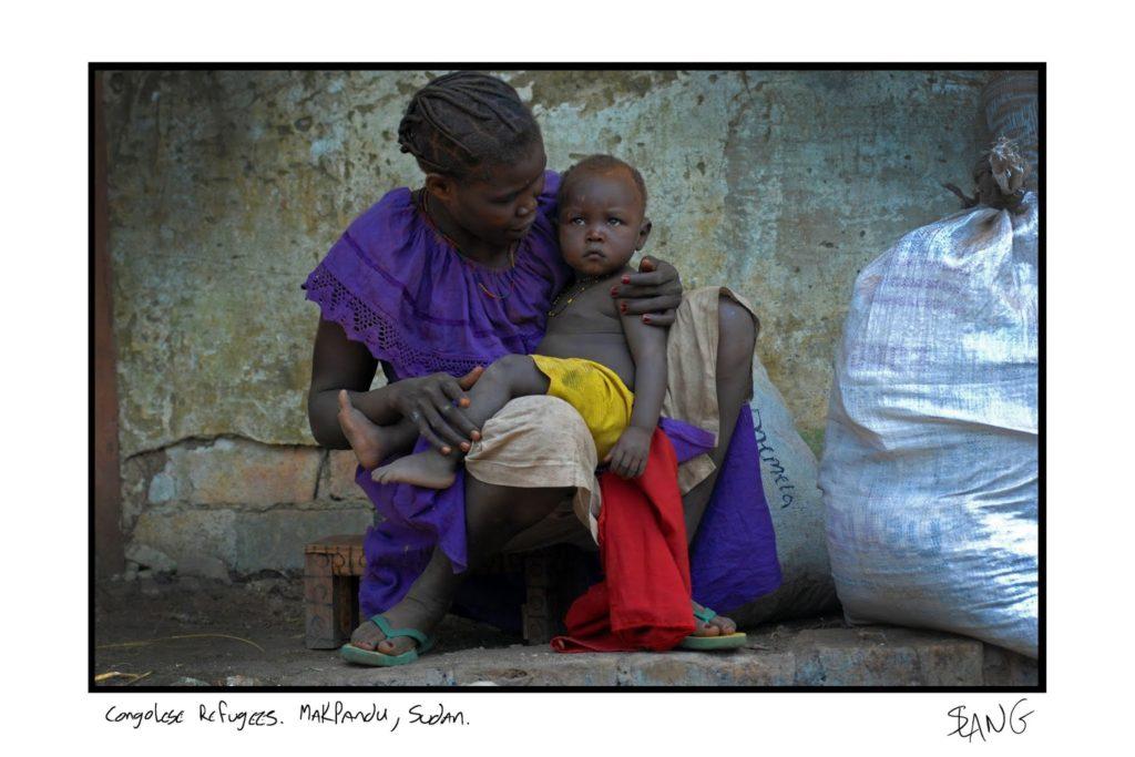 Photo: Johann Van Hattingh - Congolese Refugees - Sudan
