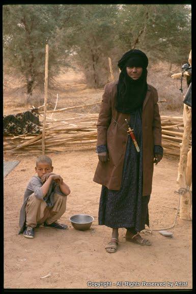 Tuareg poet & Boy Camp