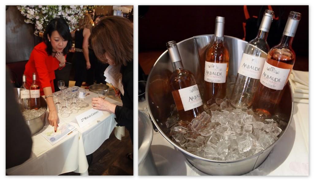 Mas de Cadenet's Arbaude rosé was very enjoyable.