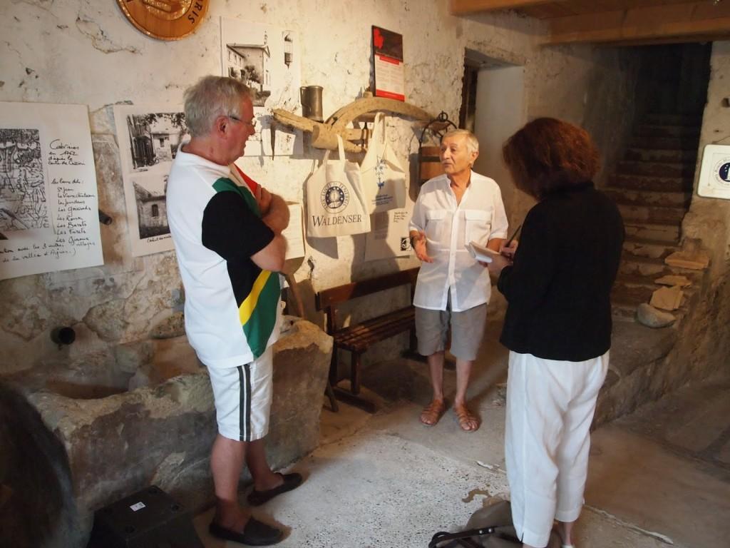 Walter Geiser, Claude Aurouze and Susan Manfull