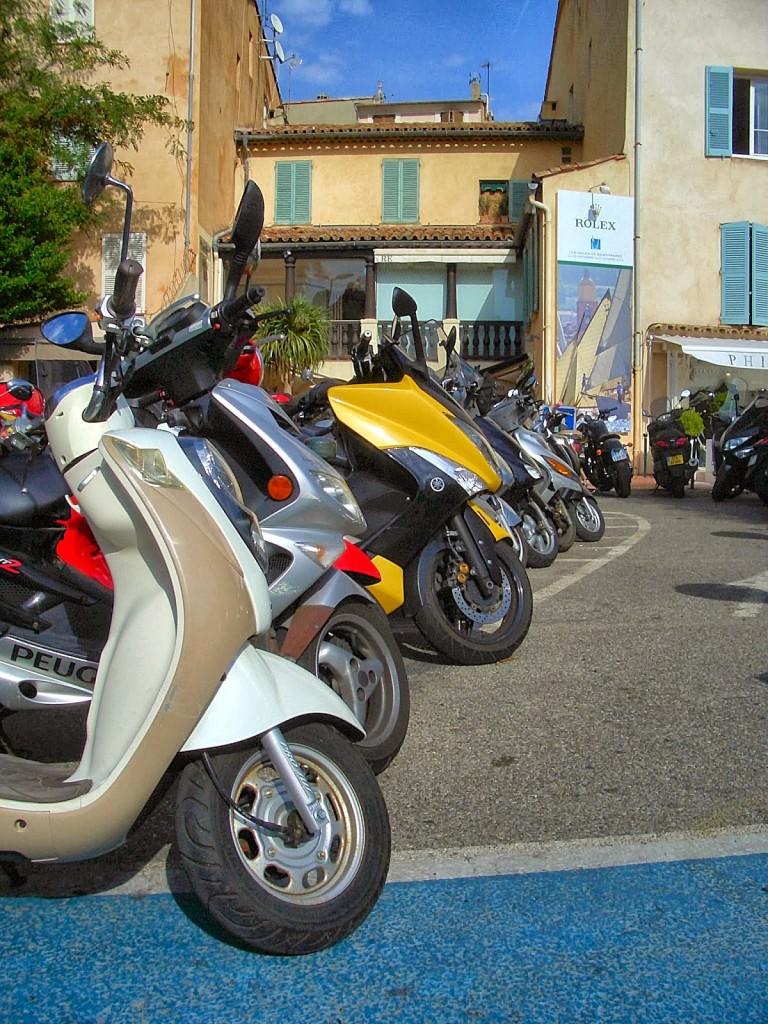 Les Motos are very popular.  Photo by Pamela J. O'Neill