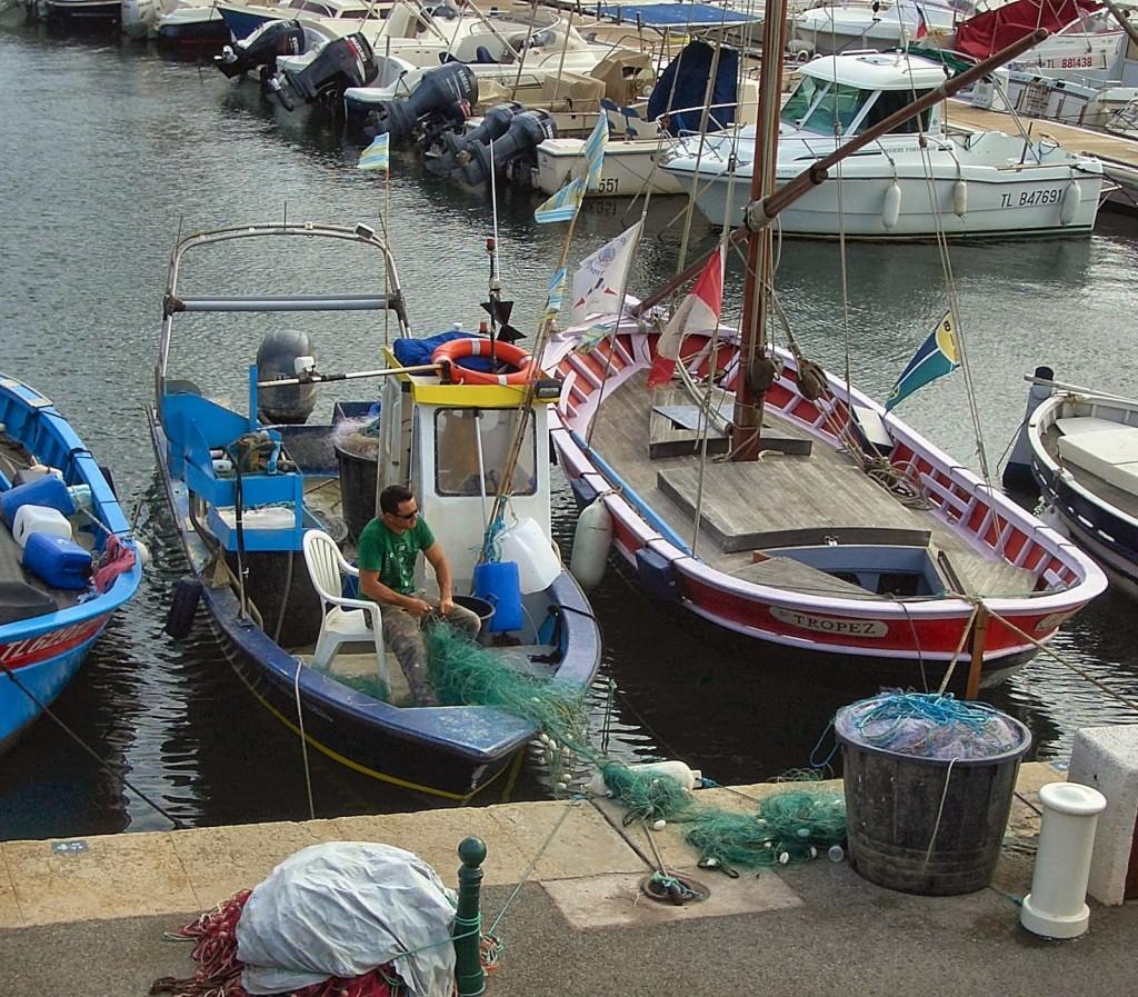 Saint Tropez Port  Photo by Pamela J. O'Neill
