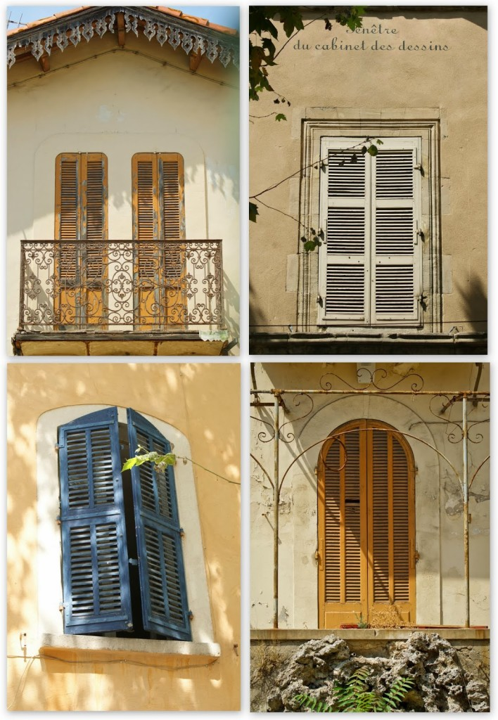 Martigues windows Photo: WT Manfull