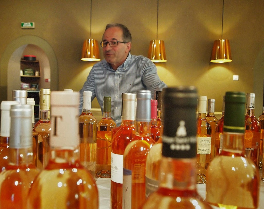 Philippe Breban, Director of Syndicat Coteaux Varois en Provence and the Maison des Vins. Photo: Pamela O'Neill