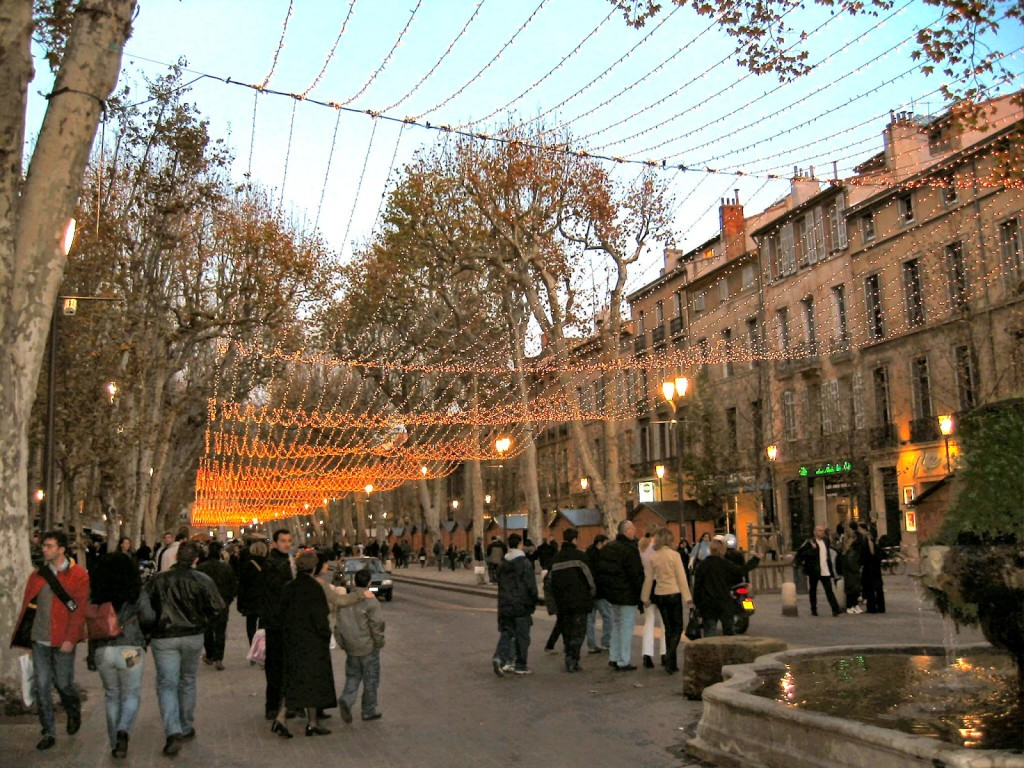 Marché de Noël in Aix-en-Provence. Photo by WT Manfull